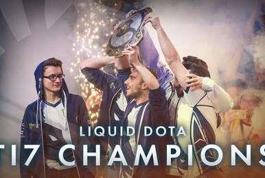 2017年度DOTA2赛事收入排名:Liquid遥遥领先