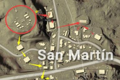 《绝地求生》沙漠S城打法及搜索路线推荐