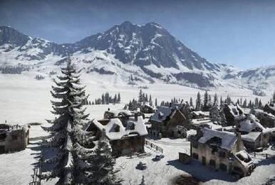 《绝地求生》雪天地图首次曝光 场景略显恐怖