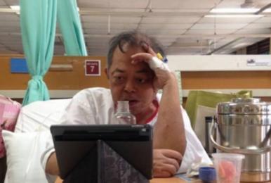 Midone父亲重病去世 病中仍坚持看他比赛