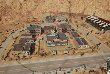 沙漠地图东部最肥资源点!落地98K加4倍镜几率超过55%