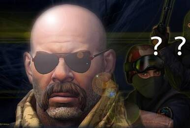 CS二十年角色演变,从青葱骚年到秃顶大叔