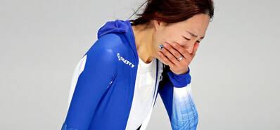 韩国名将失金场边痛哭 日本赢家送安慰