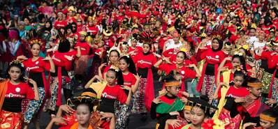 盛会来临!雅加达街头亚运氛围浓厚