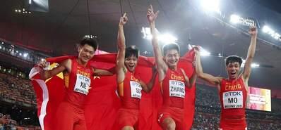 刷记录创辉煌 回顾中国百米历史时刻