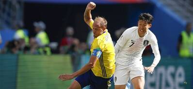 格兰奎斯特点球破门 瑞典1-0力克韩国