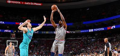 NBA-恩比德爆砍42分 76人加时险胜