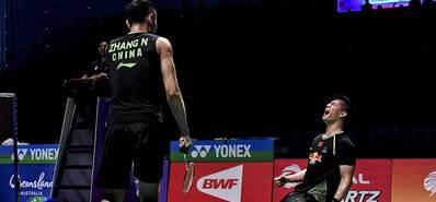苏迪曼杯决赛-中国憾负韩国
