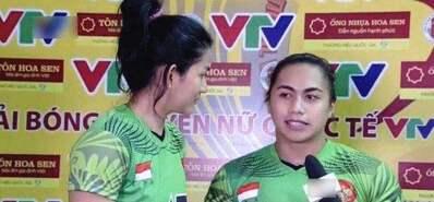 """男还是女?印尼女排姐妹花终于定""""性"""""""