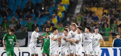 亚冠-国安0-1全北 遭对手双杀