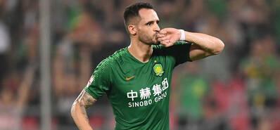 中超-国安2-0华夏幸福 巴坎布奥古建功