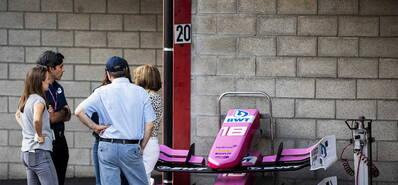 22岁F2车手胡伯特不幸去世 车祸后其座驾只剩残骸