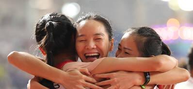 首次!世锦赛4x100米 中国男女两队携手进决赛