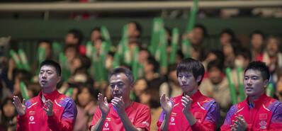 世界杯男团半决赛-国乒3-0横扫日本进决赛