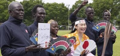 最穷奥运选手滞留日本一年半 51岁铁杆粉丝为其加油