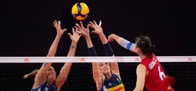 中国女排3-0横扫意大利夺4连胜!朱婷轮休