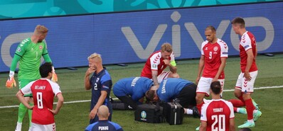 生死远高于足球!欧洲杯球场上的生命守护神