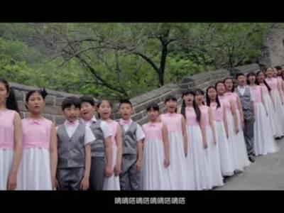 儿公益纪念反法抗战70周年共产儿童团团歌