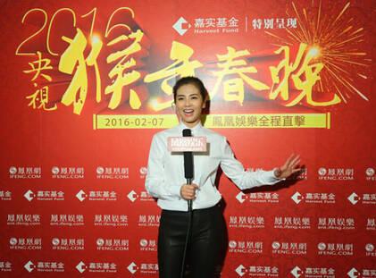 刘涛谈春晚演出:高跟鞋很高,有点紧张