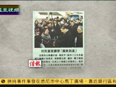 """习近平获赞""""腐败克星"""" 称不辜负群众期望"""