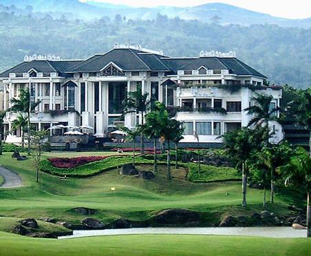 印尼高尔夫球场巡礼 彩虹山俱乐部27洞美景
