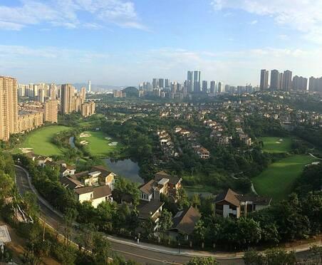 重庆锦标赛举办地——保利高尔夫球会美景