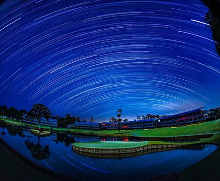 四张图片告诉你高尔夫球场夜景有多美!