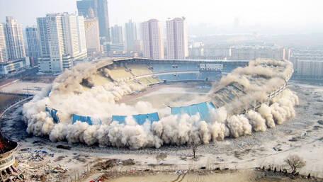 【图腾】第59期 抵不过广场的中国式体育场