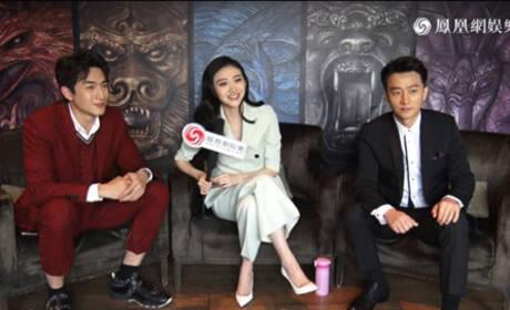 专访《长城》三主演 景甜:连马特·达蒙都要被纠正口音