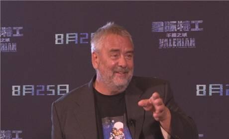 吕克·贝松:我需要好的中国演员,吴亦凡符合要求