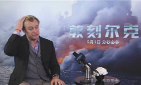 诺兰:希望中国观众能在最大的银幕上看《敦刻尔克》