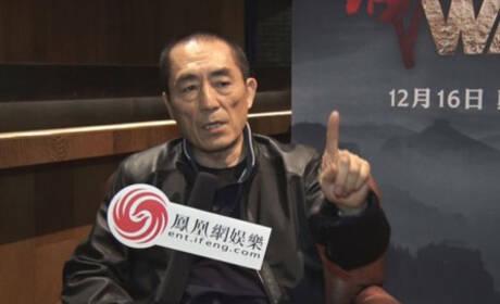 张艺谋:想用《长城》传递中国形象和价值观