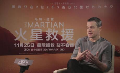 马特-达蒙:拍《长城》时我向张艺谋学习当导演