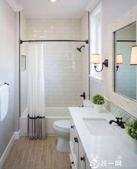小户型的卫生间也能安装浴缸 八款装修案例图赏析