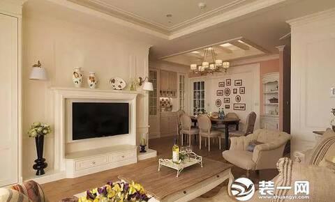15款小户型电视背景墙装修效果图,从简约大气的现代风格,优雅美式风格