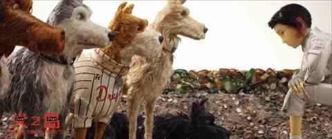 """《犬之岛》终极预告海报双发 安德森携""""犬""""归来"""