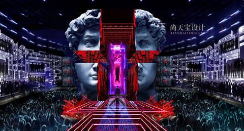 《即刻电音》潮流视觉盛宴 重新定义舞美视界