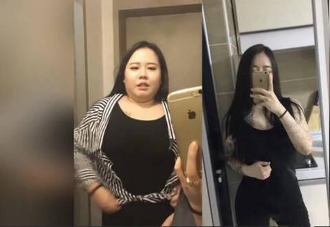 女胖子逆袭成女神照片_166斤女孩暴瘦60斤逆袭成女神,减肥有多重要看看她们