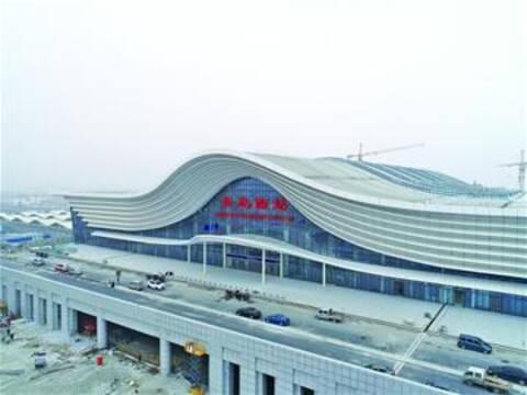 青岛西站将于26日启用 未来连接地铁6号线和13号线