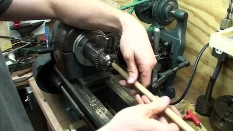 木工必备工具,自制木质推拉工具的过程!