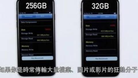 同系统32G与256G,苹果手机的秘密