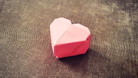 蝴蝶戒指折纸步骤图解