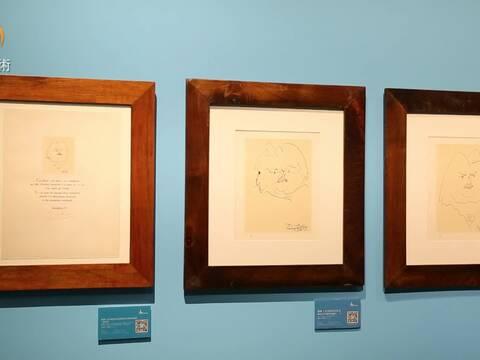 毕加索在中国-毕加索邂逅齐白石艺术大展