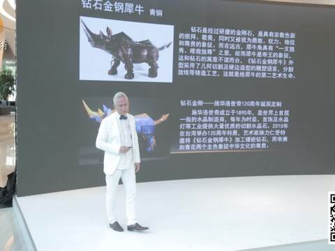 施力仁:因为犀牛,艺术道路不孤单