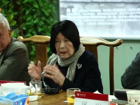 灰娃七章新诗分享会在北京大学举行