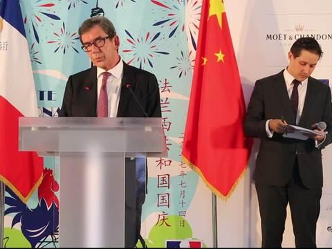 新任法国大使:以谦逊姿态促进中法文化交流