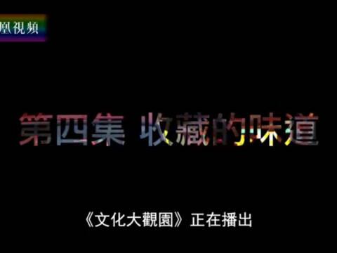 2017-07-29文化大观园 视频-香港文化人物系列(四):收藏的味道