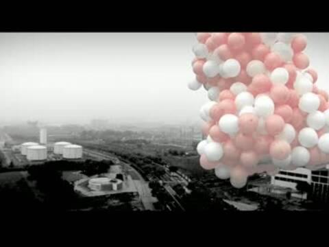 Floating B﹠W Pink