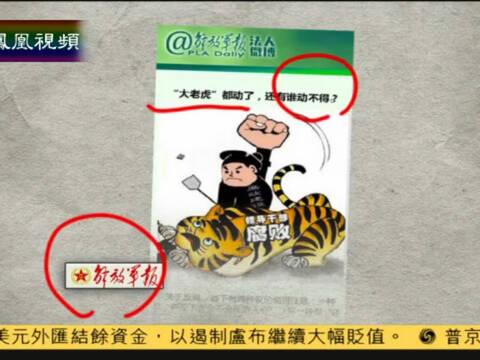 """解放军报:""""大老虎""""都动了 还有谁动不得"""