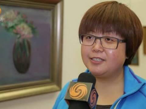 刘丹云:画展的目的是陶冶性情让家庭更和谐